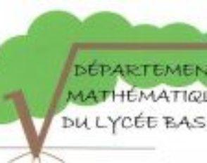 Département Mathématiques du lycée