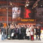 Devant le palais de la Berlinale