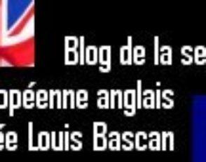 Le blog de la section européenne anglais
