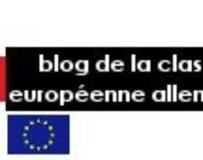 Le blog de la section européenne allemand