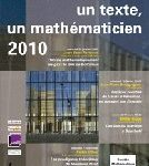 Un texte un mathématicien