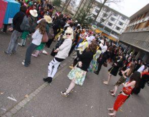Flash mob au carnaval 2011