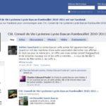 Ecran du groupe CVL Bascan sur Facebook