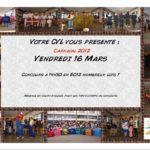 Affiche du Carnaval de Bascan 2012