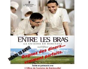 Partenariat de la filière Hôtellerie Restauration avec le cinéma Vox de Rambouillet