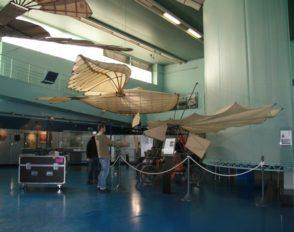 Les élèves de 1ère STI2D ITEC au musée de l'Air et de l'Espace.