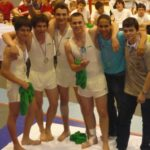 L'équipe de gymnastique du lycée Bascan