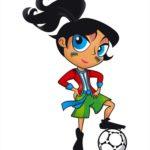 Mascotte officielle du mondial U17 féminin