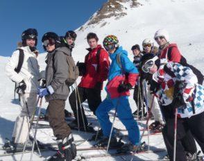 Stage de ski 2013
