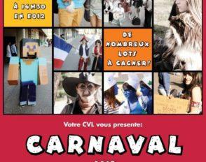 Affiche officielle du Carnaval 2013