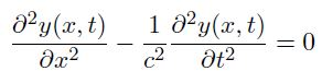 équation des ondes