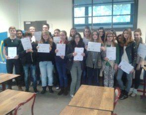 Remise du « Deutsches Sprachdiplom der KMK »