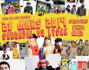 Affiche officielle du Carnaval 2014