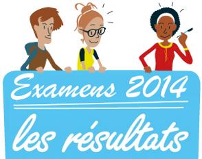 Résultats aux examens 2014