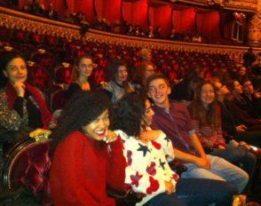 Les élèves d'art danse ont assisté à une répétition à L'Opéra