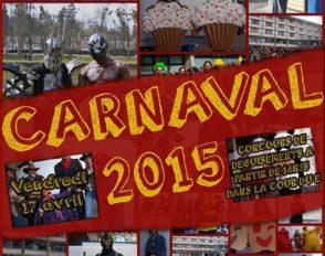 Affiche officielle du Carnaval 2015