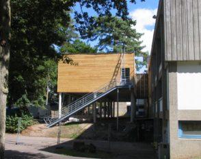 Travaux d'extension du réfectoire et installation d'un 3e rail de service au self