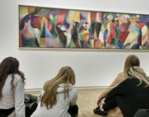Visite de l'Opéra Garnier et du Centre Pompidou pour les élèves de l'option Art danse