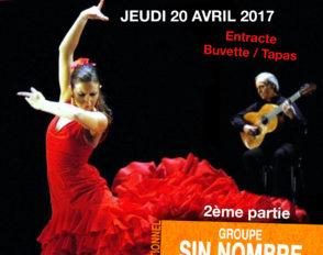 Jeudi 20 avril : soirée flamenco et tapas au lycée Bascan