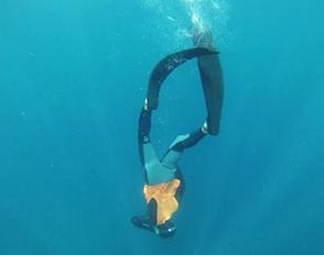 Stage d'Apnée 2017 : vidéo des techniques d'immersion et de relâchement