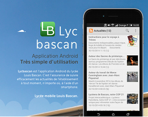 Découvrez l'application Android Lycbascan