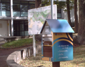Une boîte à livres au lycée Bascan, pour échanger vos livres