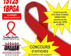 Mardi 5 décembre 2017 : journée de lutte contre le SIDA au lycée Bascan