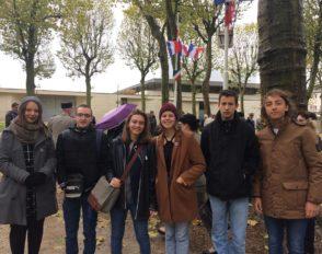Commémoration du 11 novembre avec les élus CVL de Bascan et les officiels