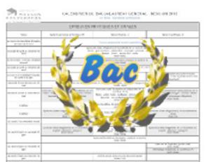 Calendriers des épreuves des baccalauréats général et technologique – session 2018