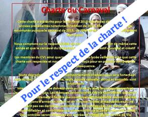Charte du Carnaval 2018