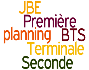 Planning des JBE 2017/2018