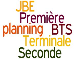 Planning des JBE 2018/2019