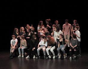 Restitutions 2018 des élèves en option théâtre