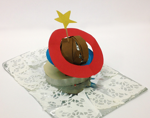 « Desserts de l'espace »