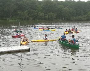 AS sortie Kayak de fin d'année