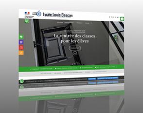 Le nouveau site internet du lycée Bascan