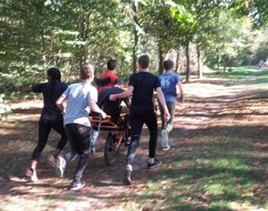 Les élèves de Seconde option EPS vers un trail handisport