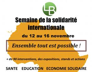 Semaine de la solidarité internationale : ensemble, tout est possible !