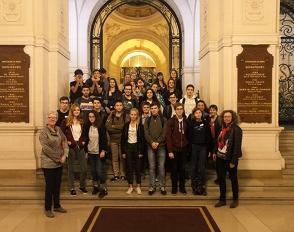 « Savant Mélange » : une soirée mathématique à la Sorbonne avec des élèves de TS