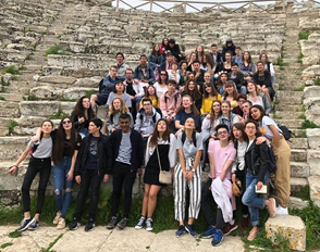 Option théâtre : vidéo du voyage 2018 en Sicile