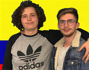 Sofiane et Valentin en Colombie 2019