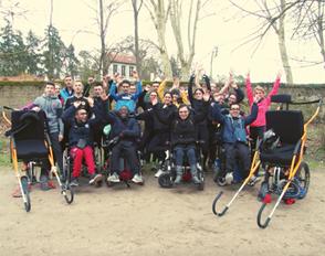 Des lycéens de Bascan partenaires du défi joëlette