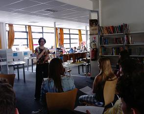 Rencontre poétique au Cdi du lycée Bascan