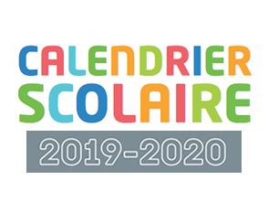 Calendrier des vacances scolaires 2019-2020