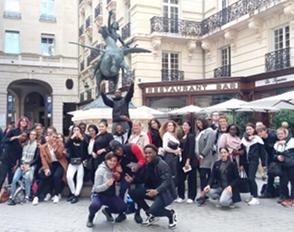 Visite à Paris pour les élèves de la Terminale professionnelle Gestion Administration