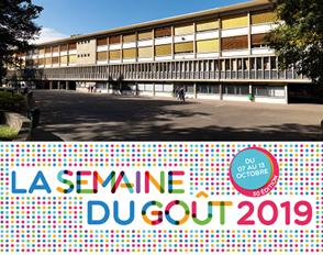 La semaine du goût 2019 au lycée Bascan