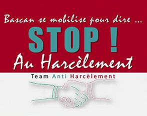 Bascan se mobilise pour dire stop au harcèlement !