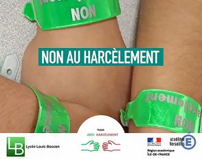 Journée nationale de lutte contre le harcèlement scolaire : une mobilisation totale des élèves de Bascan membres de la TAH