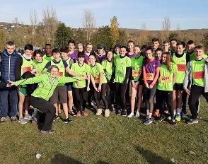 Cross départemental UNSS : 42 lycéens de Bascan réunis à Verneuil-sur-Seine
