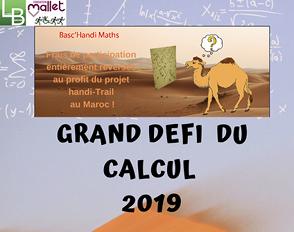 Basc'Handi Maths : le grand défi du calcul
